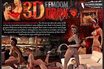 3D Femdom Draw