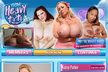 BBW Heavy Tits
