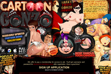 Cartoon Gonzo